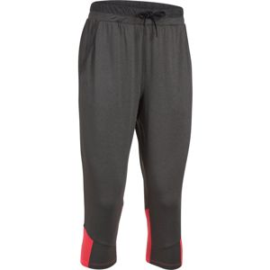 Dámske tepláky Under Armour Armour Sport Crop CARBON HEATHER / MARATHON RED / GRAPHITE - L