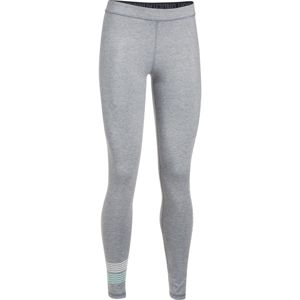 Dámske legíny Under Armour Favorite Legging WM Graphic True Gray Heather/White/Blue Infinity - S