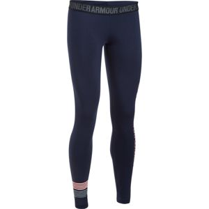 Dámske legíny Under Armour Favorite Legging WM Graphic Midnight Navy/Cape Coral/Steel - L