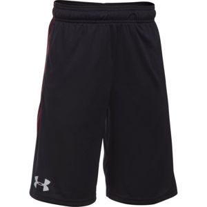 Chlapčenské kraťasy Under Armour Stunt Printed Short Black/Red/Red - YS