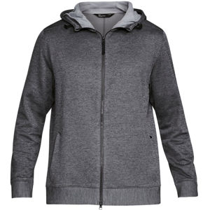 Pánska mikina Under Armour Sportstyle Sweater Fleece FZ CARBON HEATHER / STEEL - M