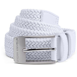 Pánsky opasok Under Armour Men's Braided 2.0 Belt White - 40