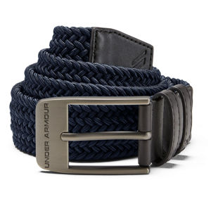 Pánsky opasok Under Armour Men's Braided 2.0 Belt Academy /  / Charcoal - 30