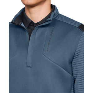 Pánska mikina Under Armour Storm Daytona 1/2 Zip Static Blue / Static Blue / Black - M