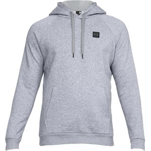 Pánska mikina Under Armour Rival Fleece PO Hoodie Steel Light Heather/Black - XL