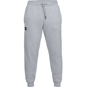 Pánske tepláky Under Armour Rival Fleece Jogger Steel Light Heather/Black - S