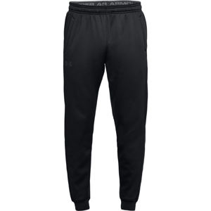 Pánske tepláky Under Armour Fleece Jogger Black/Black - 3XL