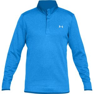 Pánska mikina Under Armour Storm SF Heather Snap Mock Blue Circuit / Blue Circuit / White - L