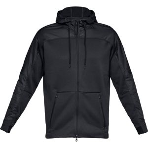 Pánska mikina Under Armour Unstoppable Coldgear Swacket Black/Black - XL
