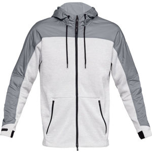 Pánska mikina Under Armour Unstoppable Coldgear Swacket Steel /  / Steel - S