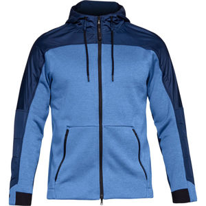 Pánska mikina Under Armour Unstoppable Coldgear Swacket Royal/Academy - L