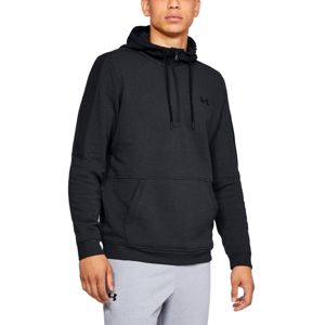 Pánska mikina Under Armour Microthread Fleece 1/2 Zip Steel Light Heather / Black / Black - M