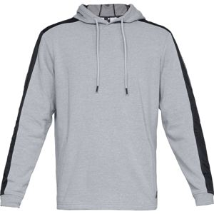 Pánska mikina Under Armour Microthread Terry PO Hoodie Steel Light Heather/Black - XXL