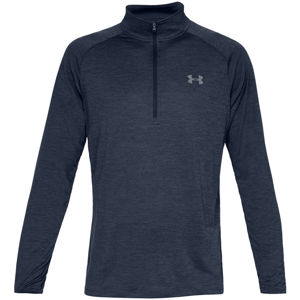 Pánske tričko Under Armour Tech 2.0 1/2 Zip Academy/Steel - S