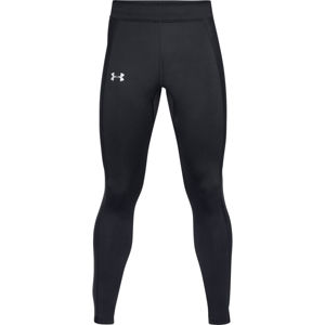Pánske kompresné legíny Under Armour Coldgear Run Tight BLACK / BLACK / REFLECTIVE - S