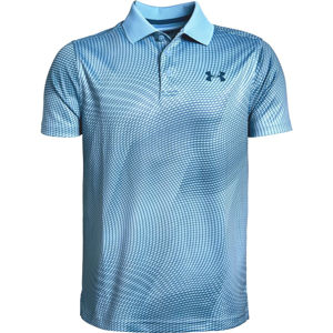 Chlapčenské tričko Under Armour Performance Polo Novelty Boho Blue - YL