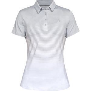 Dámske tričko Under Armour Zinger Short Sleeve Novelty Polo Mod Gray - XL