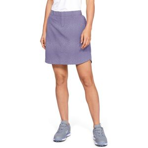 Golfová sukňa Under Armour Links Printed Wvn Skort Purple Luxe - 10