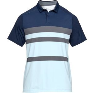 Pánske tričko Under Armour Iso-Chill Block Polo Academy - 3XL