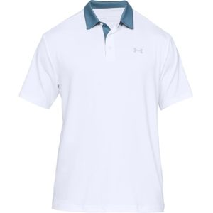 Pánske tričko Under Armour Playoff Polo 2.0 Teal Rush - XL