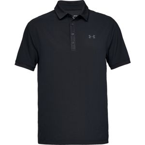 Pánske tričko Under Armour Playoff Vented Polo Black - XL
