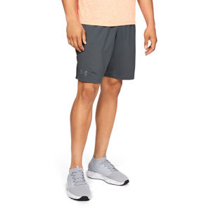 Pánske kraťasy Under Armour MK1 Short Wordmark Pitch Gray - L