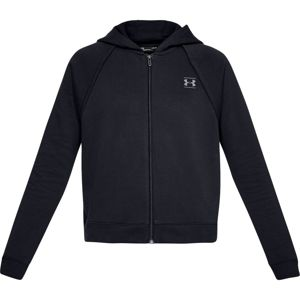 Dámska mikina Under Armour Rival Fleece FZ Black - XL