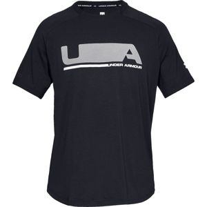 Pánske tričko Under Armour Unstoppable Move SS T Black - M