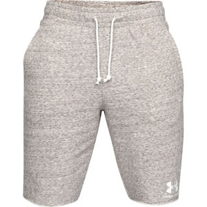Pánske kraťasy Under Armour Sportstyle Terry Short Onyx White - XL