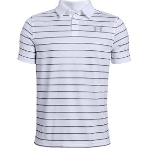 Chlapčenské tričko Under Armour Tour Tips Stripe Polo White - YS