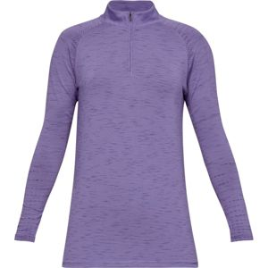 Dámske tričko Under Armour Tour Tips 1/4 Zip Purple Luxe Medium Heather - M
