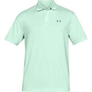 Pánske tričko Under Armour Performance Polo 2.0 Aqua Foam - XS