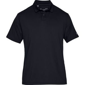 Pánske tričko Under Armour UA Crestable Performance Polo 2.0 Black - XS