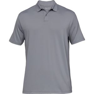 Pánske tričko Under Armour UA Crestable Performance Polo 2.0 Steel - 3XL