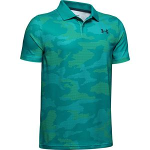 Chlapčenské tričko Under Armour Performance Polo 2.0 Novelty Teal Rush - YXL
