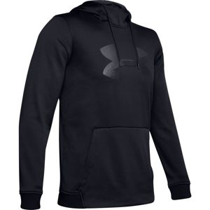 Pánska mikina Under Armour AF PO Hoodie Big Logo Graphic Black - M