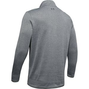 Pánska mikina Under Armour SweaterFleece 1/2 Zip Pitch Gray - M
