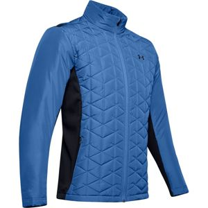 Pánska prešívaná bunda Under Armour CG Reactor Golf Hybrid Jacket Tempest - M