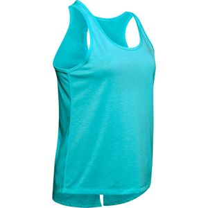 Dámske tielko Under Armour Whisperlight Tie Back Tank Breathtaking Blue - L
