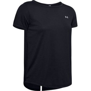 Dámske tričko Under Armour Whisperlight SS Black - L