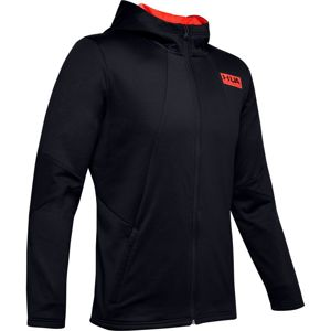Pánska mikina Under Armour Gametime Fleece FZ Black - L
