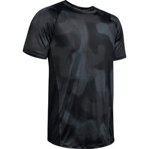 Pánske tričko Under Armour MK1 SS Printed Black - S