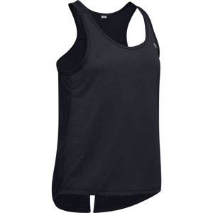 Dámske tielko Under Armour Whisperlight Tie Back Tank Black - XS