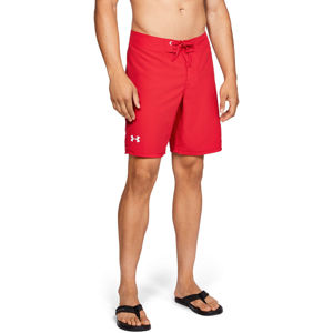 Pánske plavky Under Armour Shore Break Boardshorts Red - 40