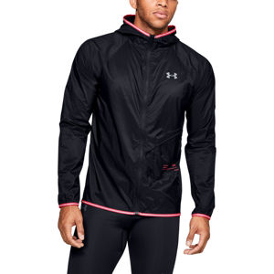 Pánska bunda Under Armour Qualifier Storm Packable Jacket Black - S