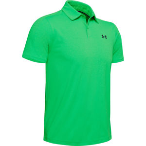 Pánske tričko Under Armour Vanish Polo Vapor Green - 3XL