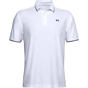 Pánske tričko Under Armour Playoff Pique Polo White - M