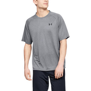 Pánske tričko Under Armour Tech 2.0 SS Tee Novelty Pitch Gray - M