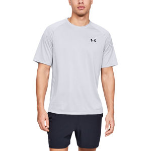 Pánske tričko Under Armour Tech 2.0 SS Tee Novelty Halo Gray - L