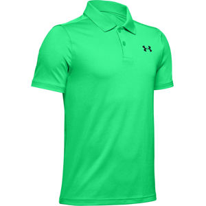 Chlapčenské tričko Under Armour Performance Polo 2.0 Vapor Green - YM